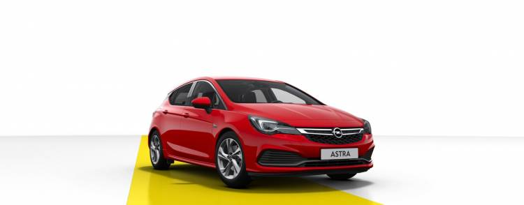 Opel Astra Gsi Line Frontal 2