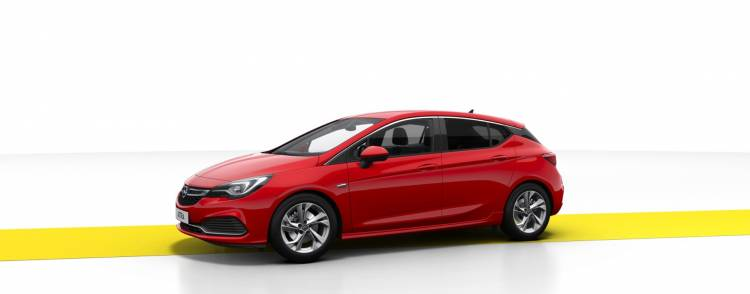 Opel Astra Gsi Line Frontal