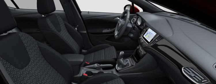 Opel Astra Gsi Line Interior 2