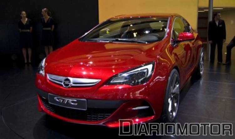 Opel Astra GTC Concept Paris