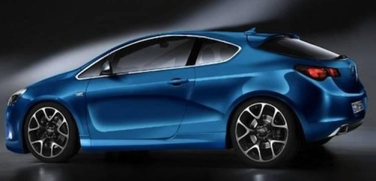 Recreación del Opel Astra GTC 2011