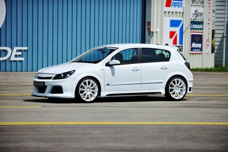 Opel Astra Rieger Tuning