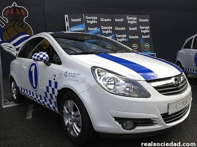 Opel Corsa Real Sociedad Edición Especial Limitada
