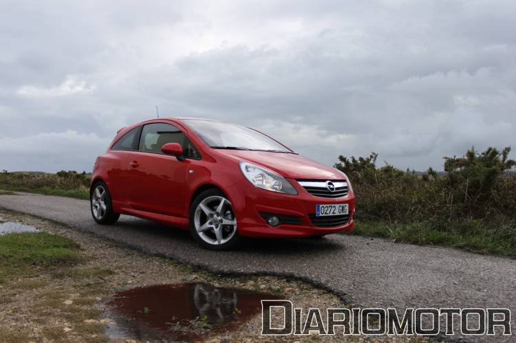 Opel Corsa GSi 1.7 CDTI, a prueba