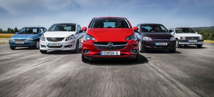 Opel Corsa Historia