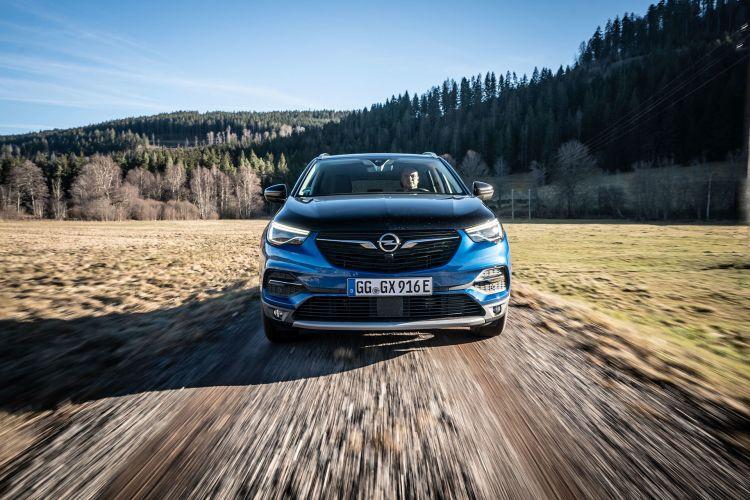 Opel Grandland X Hybrid4 2020 Azul 01