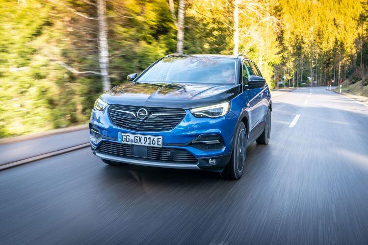 Opel Grandland X Hybrid4 2020 Azul 03
