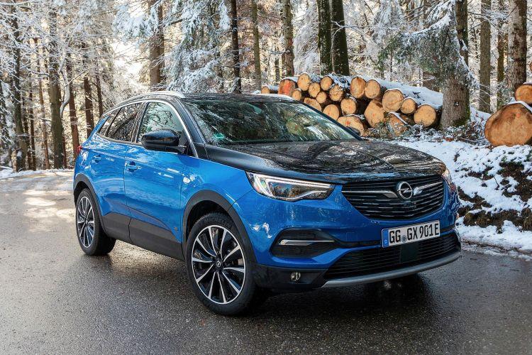 Opel Grandland X Hybrid4 2020 Azul 24