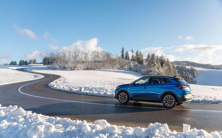 Opel Grandland X Hybrid4 2020 Azul 26