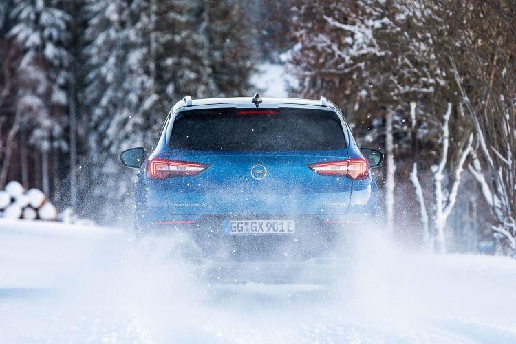 Opel Grandland X Hybrid4 2020 Azul 30