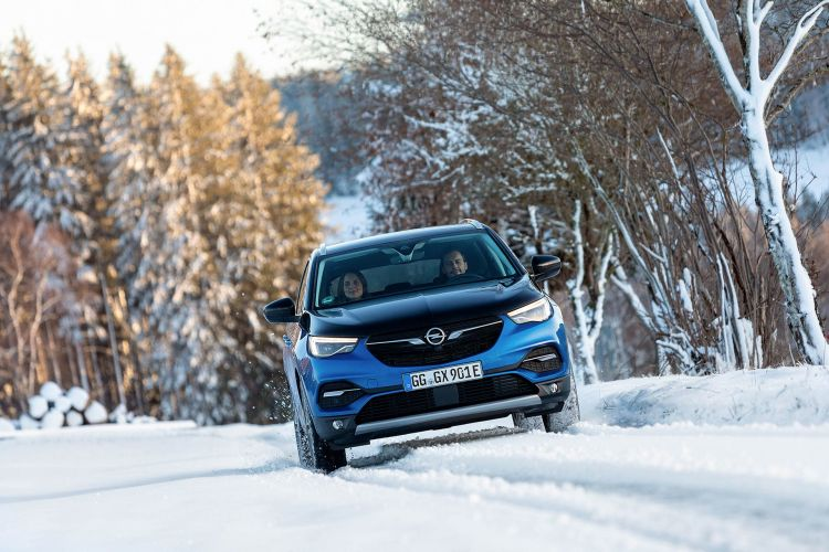 Opel Grandland X Hybrid4 2020 Azul 32