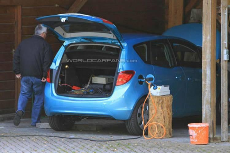 Opel Meriva eléctrico