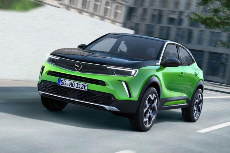 Opel Mokka E 2020 Verde 08