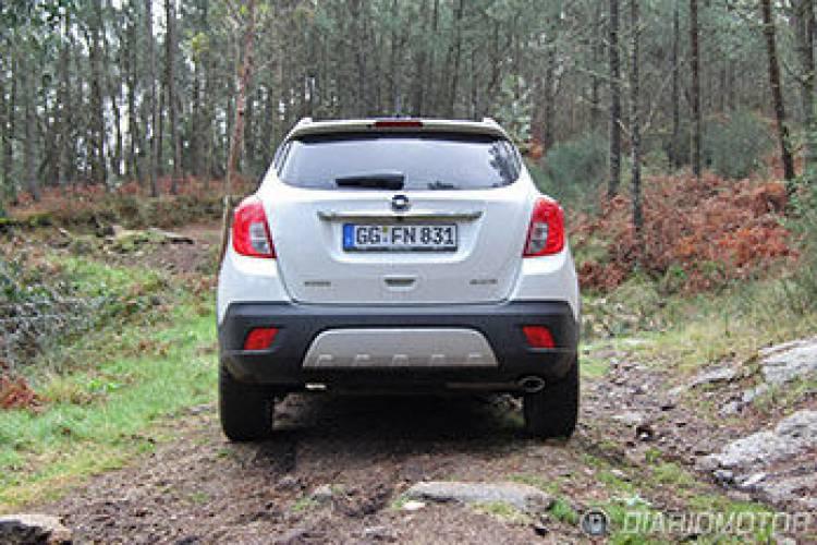 Fotos del Opel Mokka 1.7 CDTI 130 CV, toma de contacto