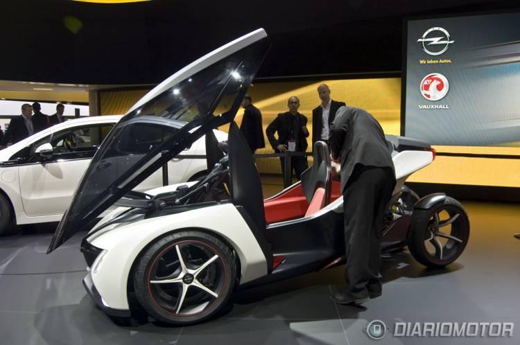 Opel RAK e en el Salón de Frankfurt