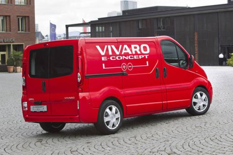 Opel Vivaro e-Concept