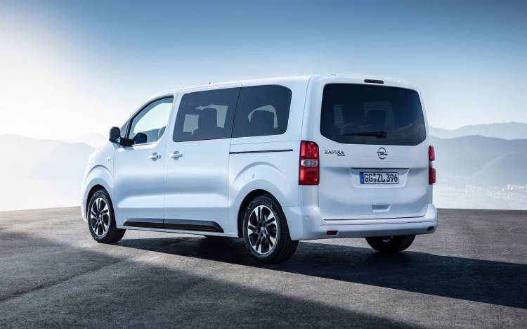 Opel Zafira Life 2019 Trasera Exterior