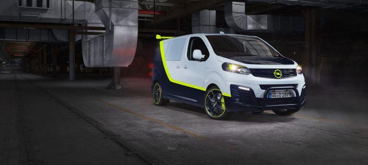 "Showcar Opel Zafira Life ""o Team"", 2019"