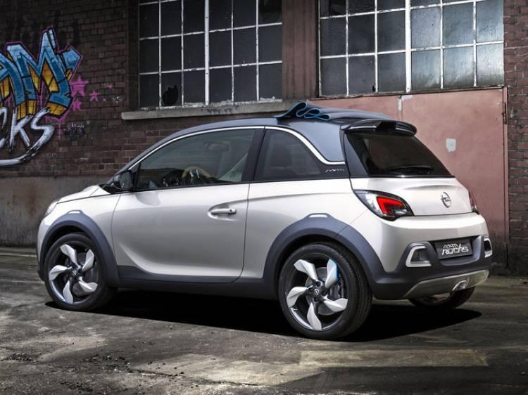 El Opel Adam Rocks Concept de producción llegará a finales de 2014