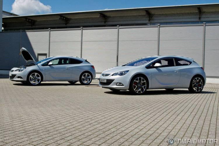 Primer prototipo del Opel Astra GTC