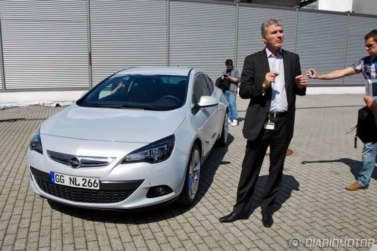 Presentación del Opel Astra GTC en Rüsselsheim