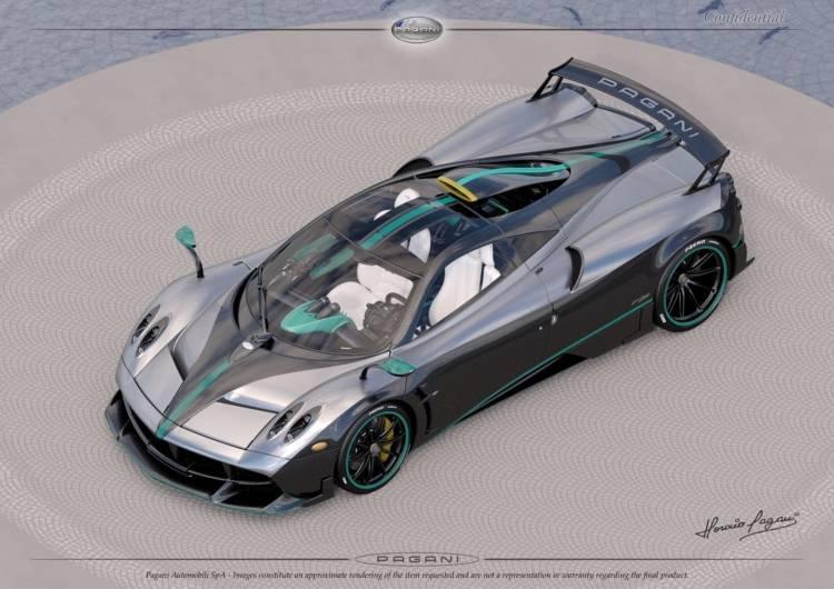 Pagani Huayra Homenaje Mercedes Amg 001