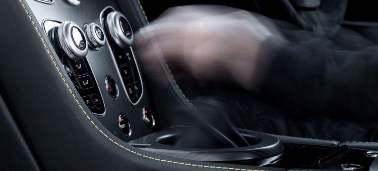 Palanca Cambios Mano Aston Martin
