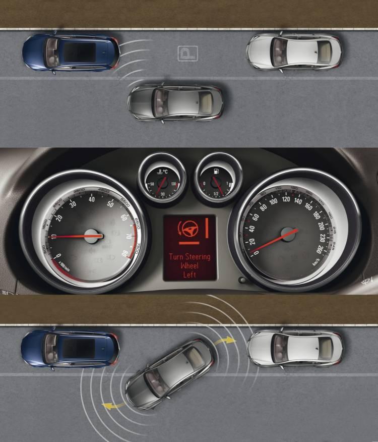 Park Assistant para el Opel Insignia