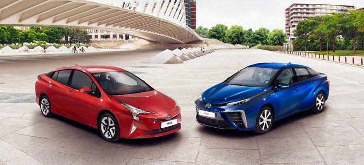 Peaje Coche Cambio Climatico Toyota Prius Mirai