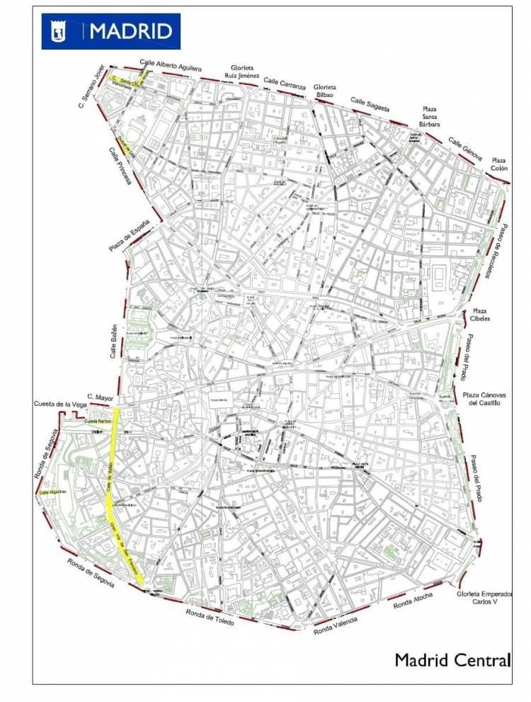 Perimetro Madrid Central