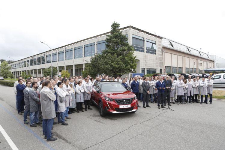 Peugeot 2008 Coche Fabrica Vigo Dm 12