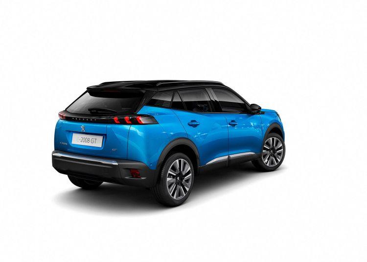 Peugeot 2008 Exterior Azul 2019 03