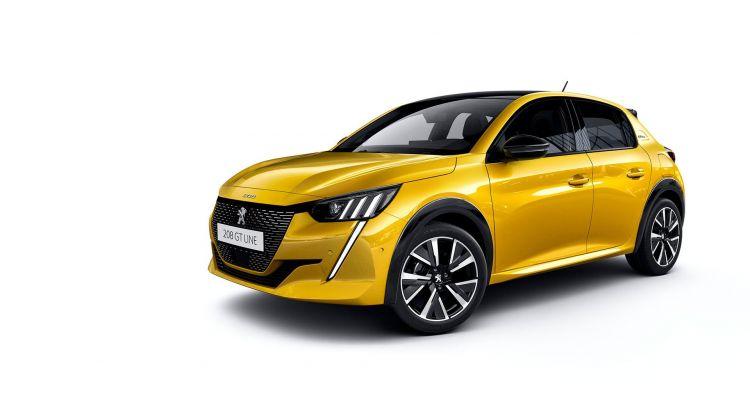 Peugeot 208 2019 Amarillo Exterior 10