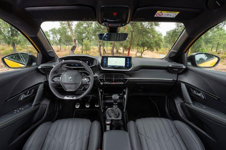 Peugeot 208 Gt Line 2019 Amarillo 47