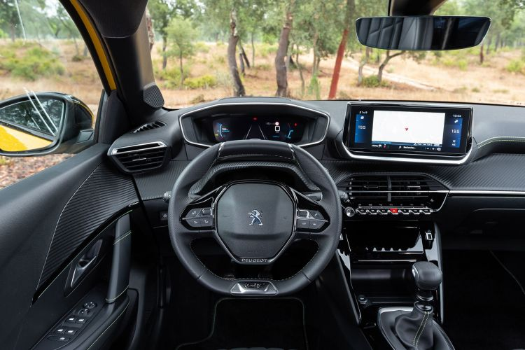 Peugeot 208 Gt Line 2019 Amarillo 49