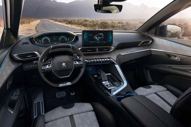 Peugeot 3008 2021 Hev Interior 01