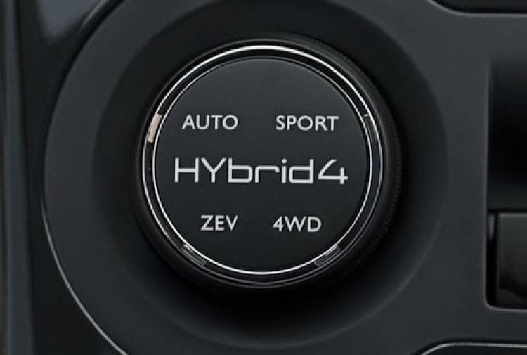 Peugeot 3008 Hybrid4 de producción