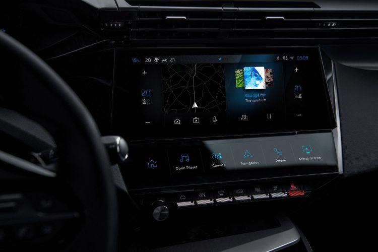 Peugeot 308 2021 Interior Navegador