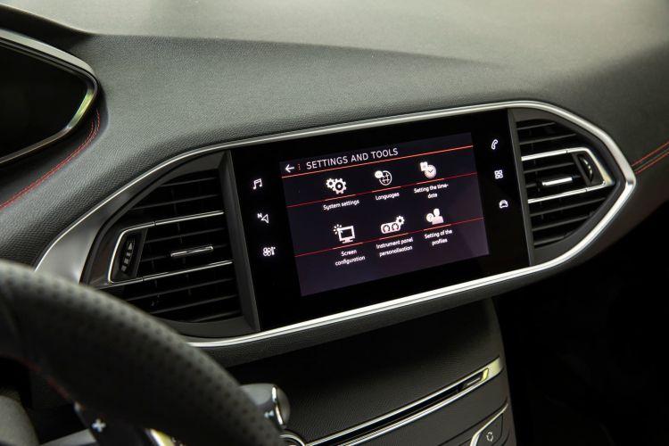 Peugeot 308 Pantalla Digital