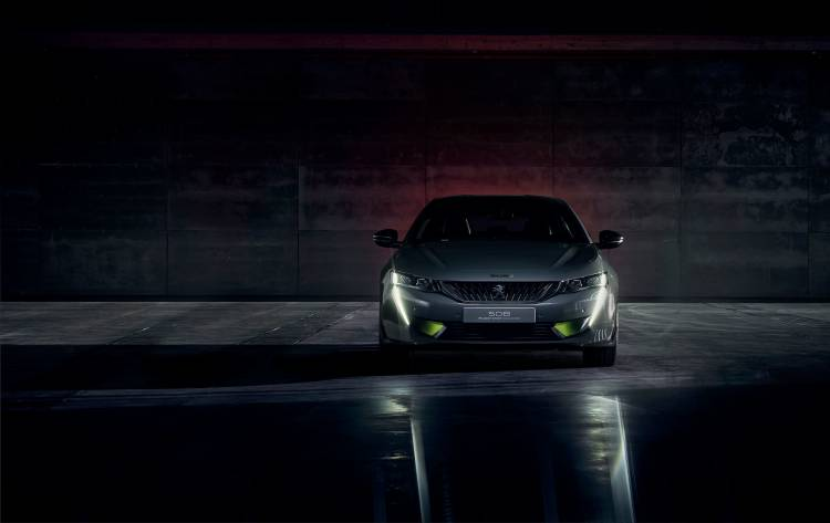 Peugeot 508 2019 Hibrido Sport Engineered Concept 05