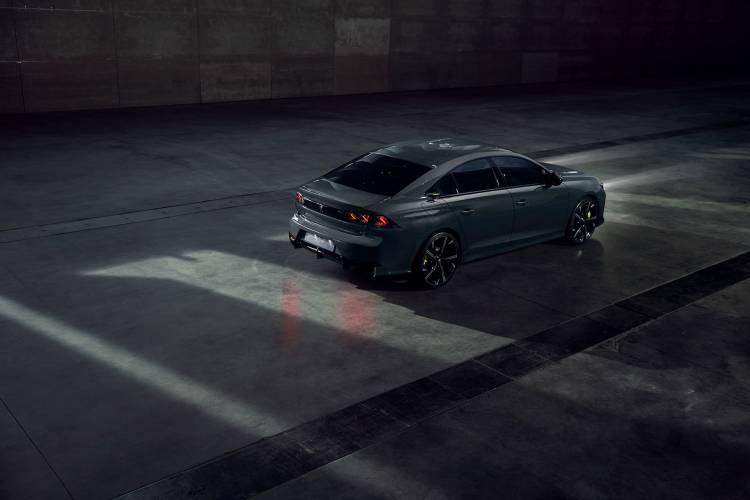 Peugeot 508 2019 Hibrido Sport Engineered Concept 09