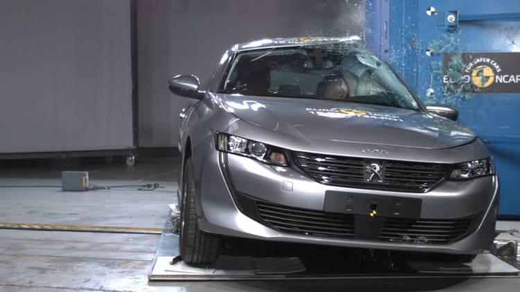 Peugeot 508 Euroncap Crash Test