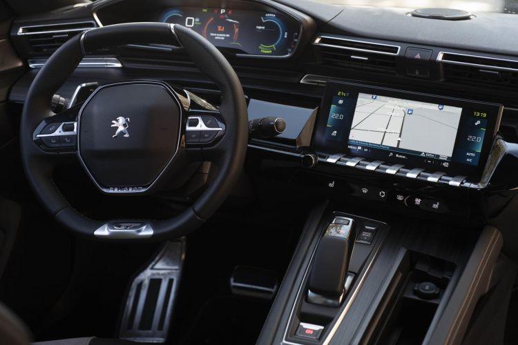 Peugeot 508 Phev Oferta Renting Abril 2021 Interior 01