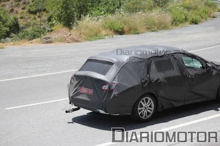 Fotos espía del Peugeot 508 SW
