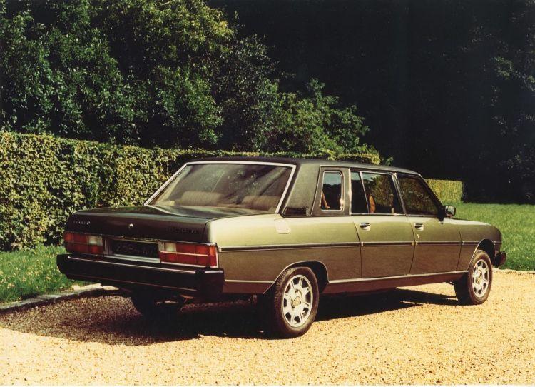 Peugeot 604 Limousine Papa Juan Pablo 03