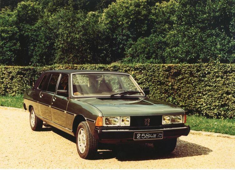 Peugeot 604 Limousine Papa Juan Pablo 04