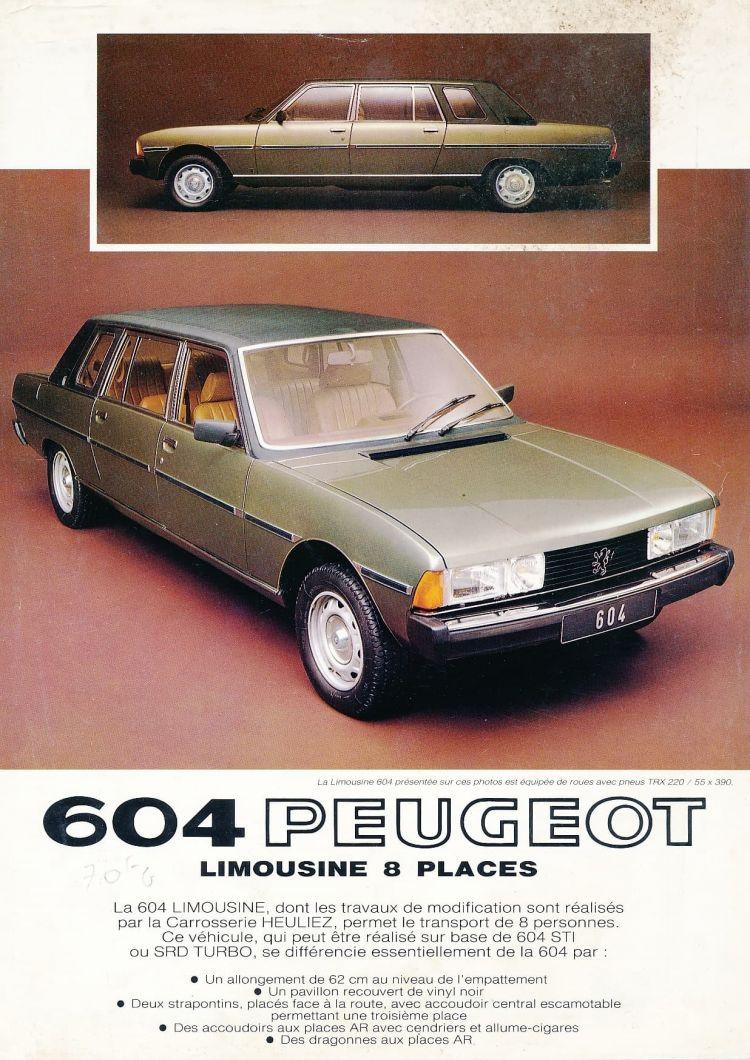 Peugeot 604 Limousine Papa Juan Pablo 07