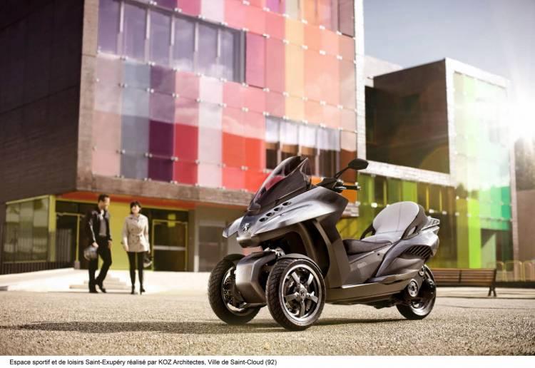 Peugeot Concept HYbrid3 Evolution