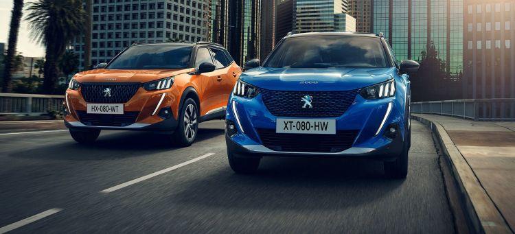 Peugeot E 2008 Azul 2019 03