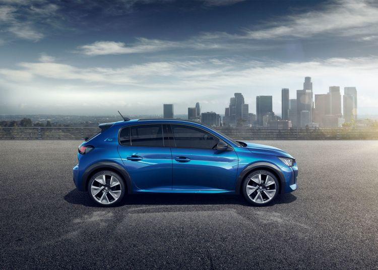 Peugeot E 208 2019 Azul Exterior 17